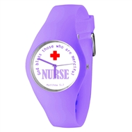 God Bless Those Who Are Merciful Nurse Watch