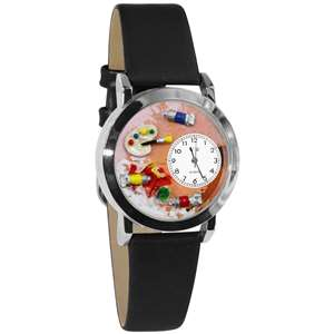 Artist Watch Small Silver Style