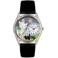 Halloween Ghost Watch Small Silver Style