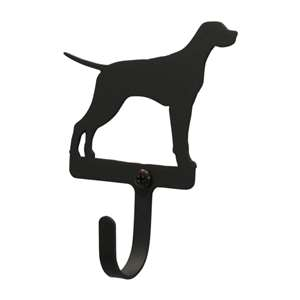 Black Metal Wall Hook Small - Pointer