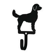 Doodle Black Metal Wall Hook -Small