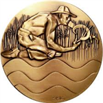 Brookgreen Garden Medal by Sisko