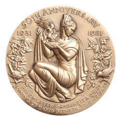 Brookgreen Garden Medal by Belskie