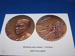 Brookgreen Garden Medal by Langland
