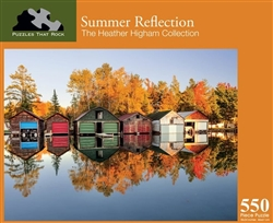 Summer Reflection 550 Piece Puzzle