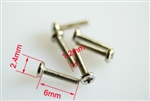 M1.2x6 Mechanical screws 10 ea