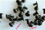 M1.4 x 2.5 Mechanical screws 10 ea