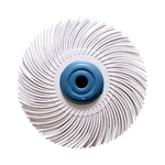 "3M RADIAL BRISTLE DISCS  Diameter 3""- Grade: 120 Grit Light Cleaning and Oxide Removal"