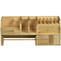 STORAGE WOOD MINI WORKSBENCH