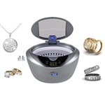 Gemoro Sparkle Spa PRO Slate Personal Ultrasonic Jewelry Cleaner