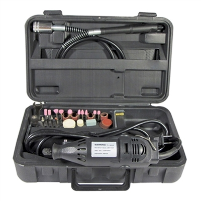 ROTARY TOOL WITH FLEXIBLE SHAFT SET  40 Pcs