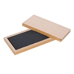 "GOLD TEST STONE 6"" x 3"" x 1/2"" Wood Case"
