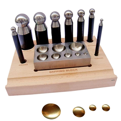 PUNCH SET WITH DIE</br> Economy 8 Punches