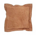 LEATHER SANDBAG  Square  7�