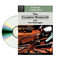 The Complete Metalsmith Instructional   DVD   By Tim McCreight