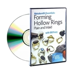 Metalsmith Essentials: Forming Hollow Rings DVD  by Bill Fretz