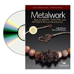 Metalwork How to Shape,Texture and Antique Wireworked Jewelry DVD  with Ronna Sarvas