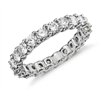Lunar Prize Diamond Eternity Ring in Platinum or Gold 2 ct. tw.