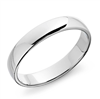 Classic Cupid Wedding Ring in Platinum or Gold 4mm