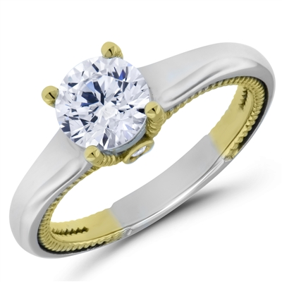 Enchanted Memory Diamond Engagement Ring F-G VS1-VS2