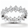 Andromeda's Frolic Diamond Eternity Ring in Gold or Platinum 1.5 ct. tw.