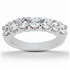 Aphrodite's Star Floating Diamond Matching Band F-G VS1-VS2