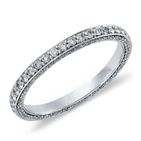 Artemis' Beloved Tripple Row Micropavé Diamond Eternity Ring 4/5 ct. tw.