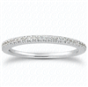 Destiny's Story French Pavé Diamond Matching Band F-G VS1-VS2