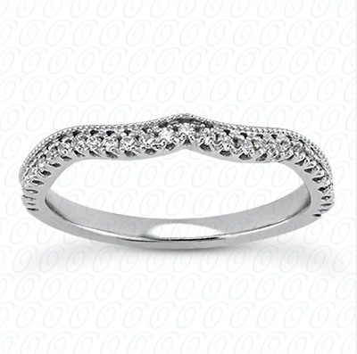 Fantasy Twist Diamond Matching Band F-G VS1-VS2