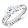 Diamond Engagement Ring F-G VS 0.20 TCW