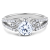Vintage  Diamond Engagement Ring F-G VS