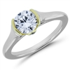 Enchanted Comfort Fit Diamond Engagement Ring F-G VS