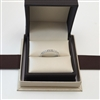 Matching Diamond Wedding Band Pave Anniversary Ring in White Gold 14K 0.22 ct. tw.