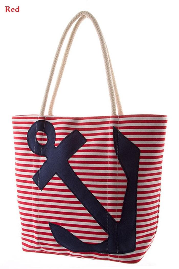 Anchor Theme Beach Bag