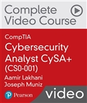 CompTIA Cybersecurity Analyst CySA+ (CS0-001) Complete Video Course