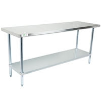 6 ft. Stainless Steel Table