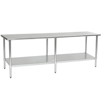 Used 8 ft. Stainless Steel Table