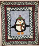 Benartex Jolly Penguin and Friends Jolly Penguin Panel Multi 10040-99