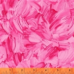 Windham Finger Painted Flowers - Texture 40751-1 Half yard