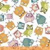 Windham Whoos Hoo Owlbert and Friends 51592-1 Half yard