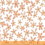 Windham Whoos Hoo Flowers 51598-4 Half yard