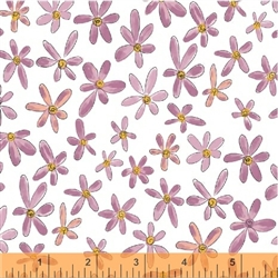 Windham Whoos Hoo Flowers 51598-8  Half yard
