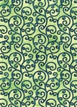 Benartex Balinesia by Dover Hill Laya Lime 6058-44 Half yard