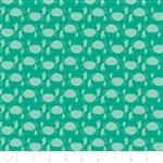 Under the Sea - Crabs - Turquoise by Heather Rosas for Camelot 6141605-01