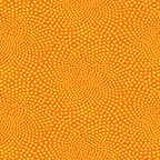 Benartex Breezy Blooms by Susan Rooney Whirl Orange/Yellow 696-28 Half Yard