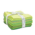 Moda Bella Solids Green Fat Quarters 9900AB-123