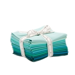 Moda Bella Solids Teal Fat Quarters 9900AB-127