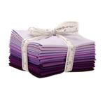 Moda Bella Solids Purple Fat Quarters 9900AB-128