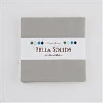 Moda Bella Solids Charm Pack White 9900PP-183