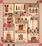 A Woodland Christmas Pattern